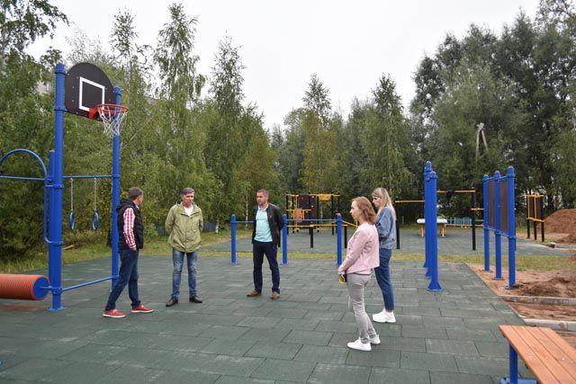 Новую спортивную площадку построили в районе Тверской области